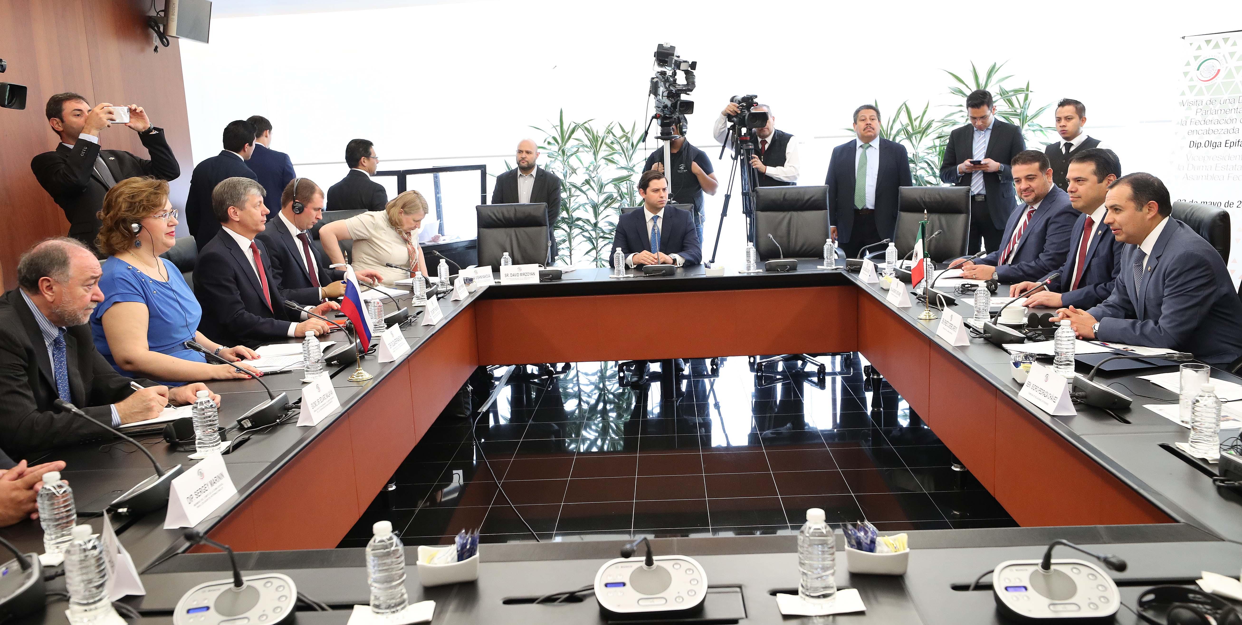 México y Rusia comparten anhelo de un mundo en paz y ordenado: Ernesto Cordero Arroyo