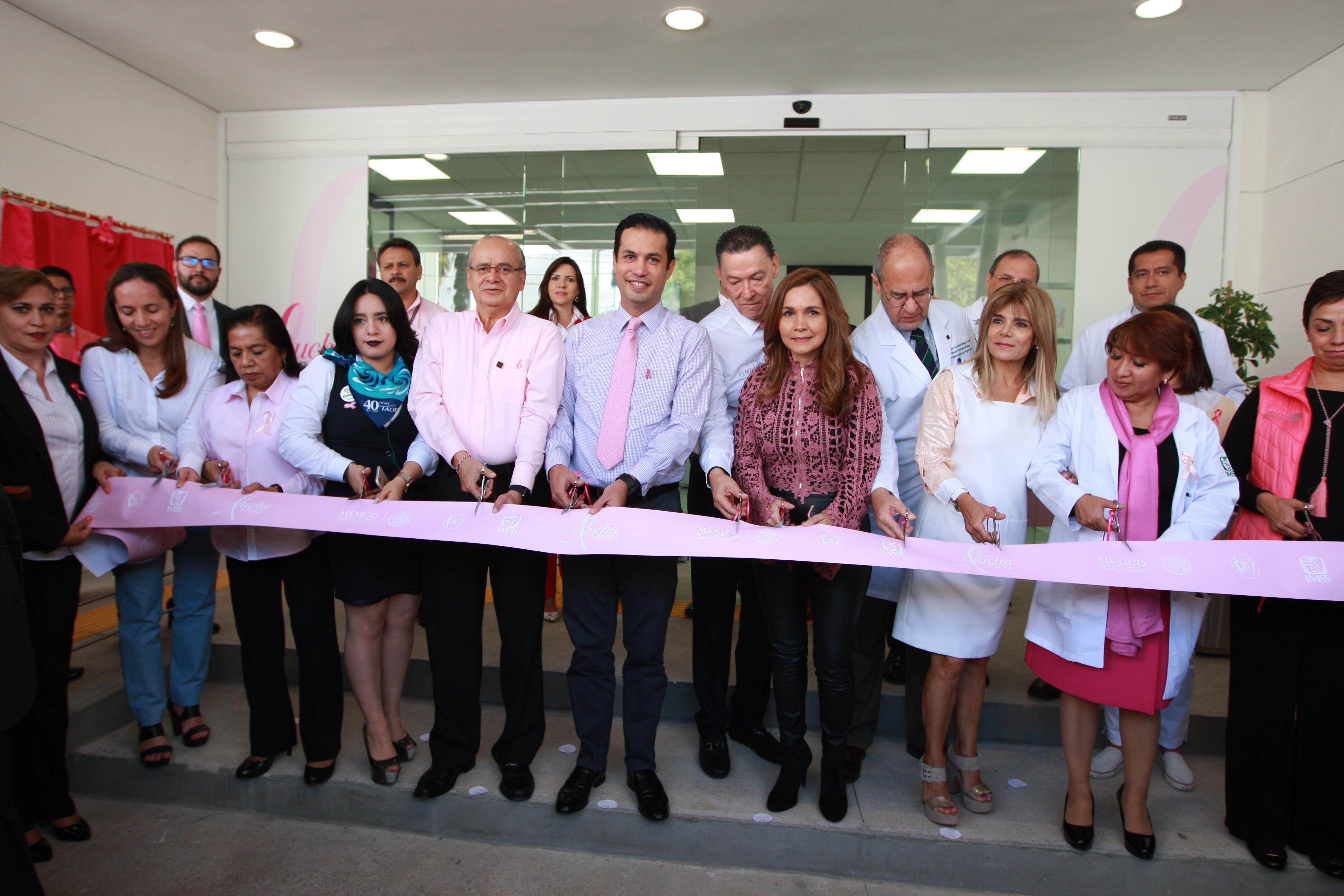 IMSS CONSTRUYE 10 CLÍNICAS CONTRA EL CÁNCER DE MAMA;  ABRE LA TERCERA EN LA CIUDAD DE MÉXICO
